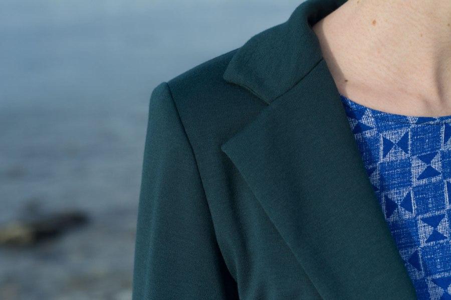 Sew Mariefleur Wardrobe By Me Blixen Blazer