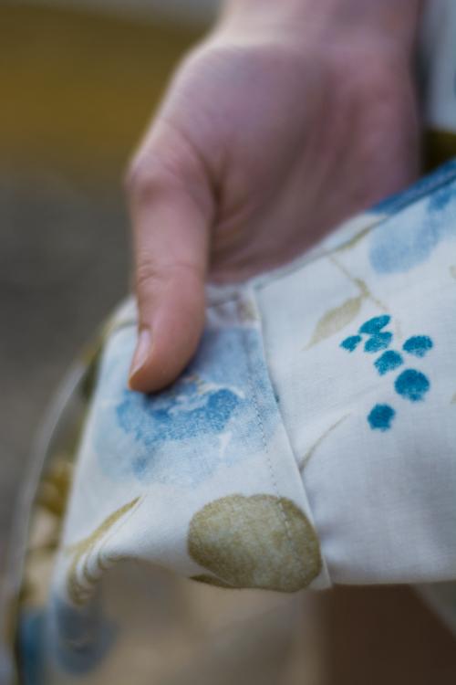 Sew Mariefleur Chalk and Notch Fringe Dress