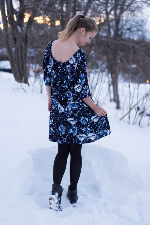 Sew Mariefleur Sew DIY Lou Box Dress