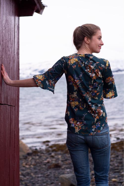 Sew Mariefleur Hello Heidi Bonn Shirt Itch to Stitch