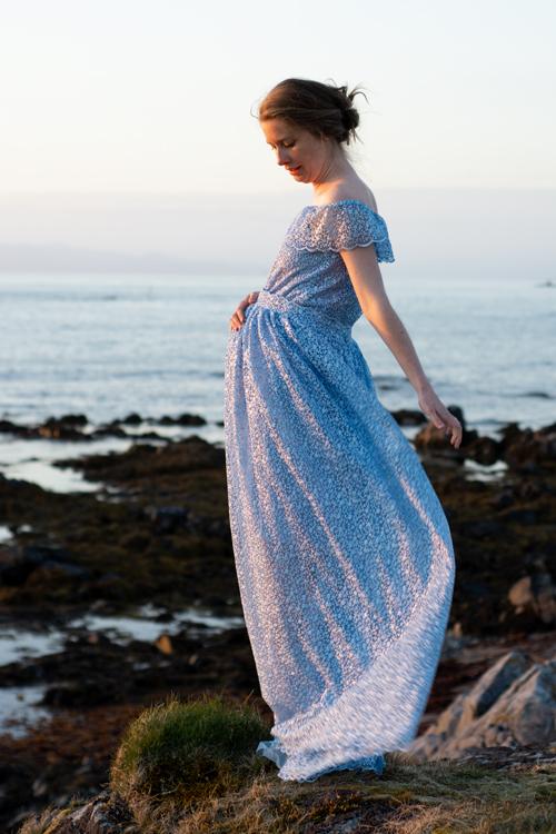 Sew Mariefleur Minerva Maternity Dress