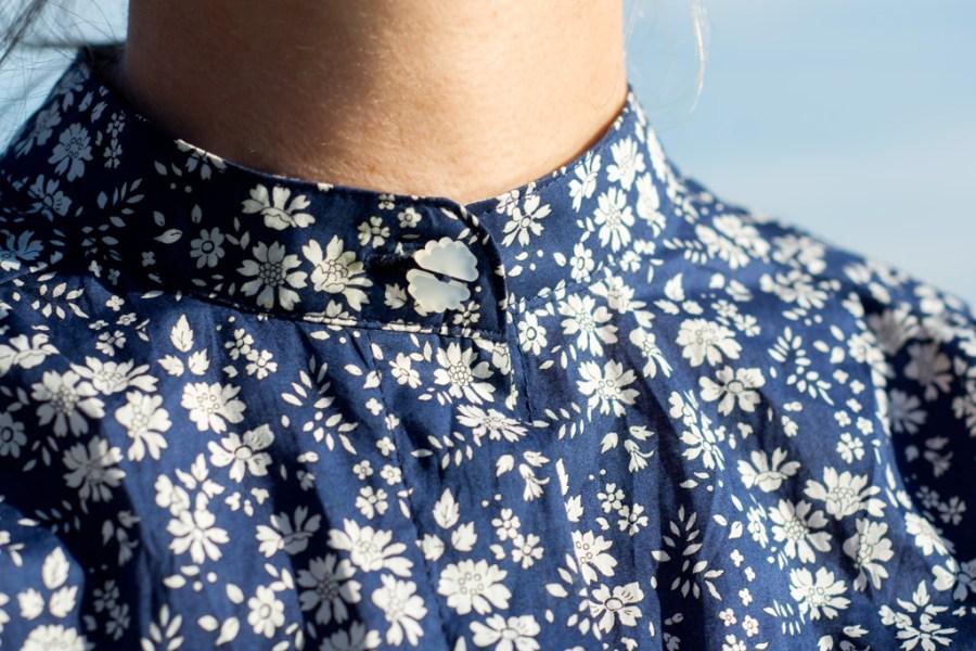 Sew Mariefleur Liberty Thea Boho Shirt