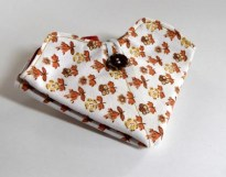 Small flower needle case