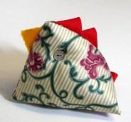Jacquard Hen Pin Cushion