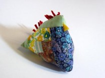 Mosaic Chick Pin Cushion