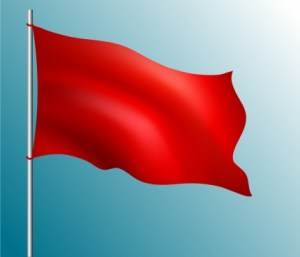 red_flag_icon_waving_style_blank_ornament_6829780
