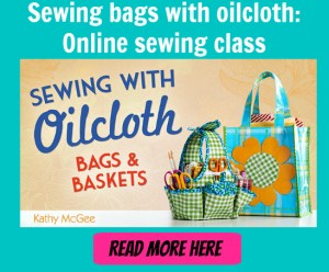 Sewing with oilcloth 2