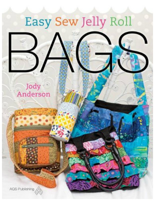Great bags sewing book. Easy Sew Jelly Roll Bags.