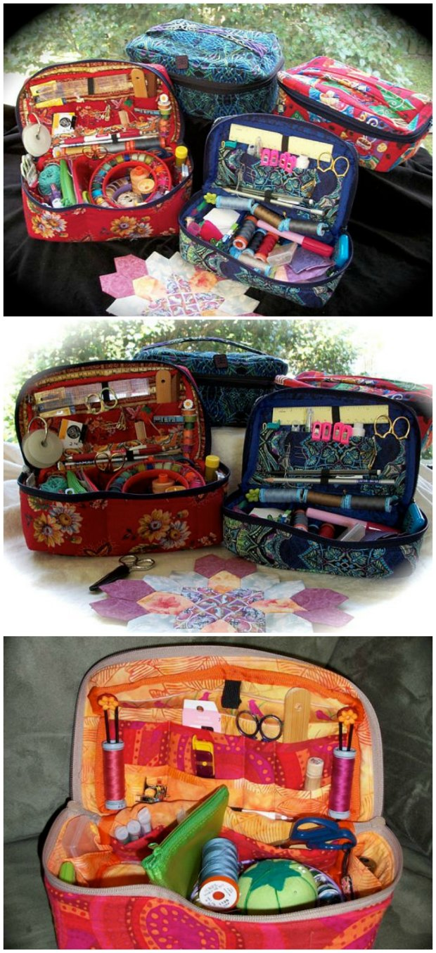 Fabric sewing basket pattern sew modern bags sewing pattern for how to make your own sewing basket could also be jeuxipadfo Gallery