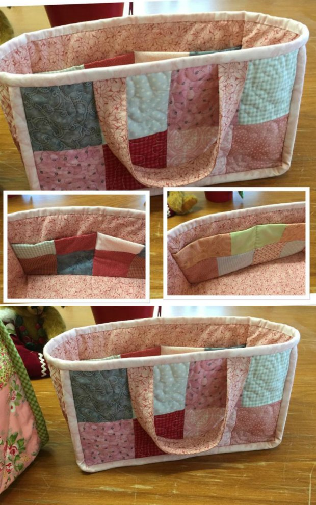 Sew your own craft basket free sewing pattern & Megelles Sewing Basket - Sew Modern Bags