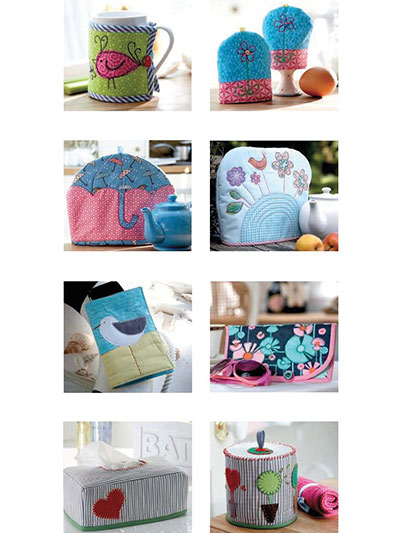 quilted covers and cosies to sew