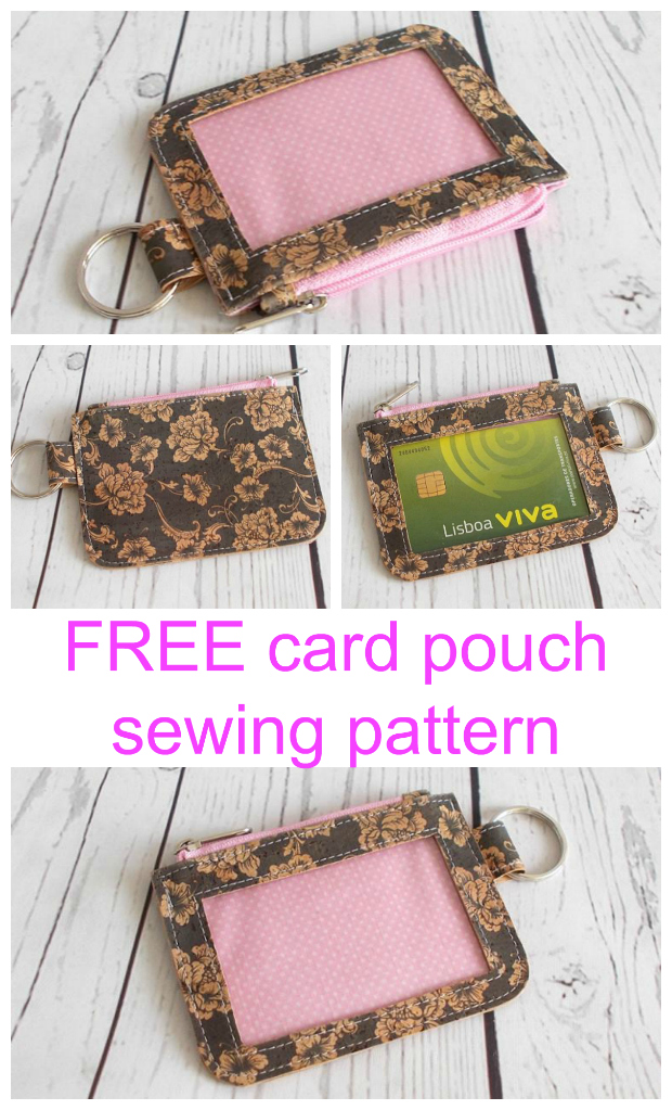 FREE coin purse sewing pattern. Super cute, super easy, super useful, I carry this little wallet everywhere.
