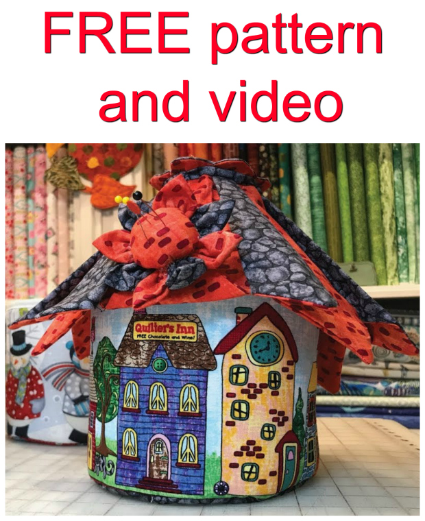 OH MY GOODNESS! Have you ever seen anything so cute? This little fairy house, mini dolls house or gnome home is amazing and the pattern and video tutorial are FREE. Can you imagine how fabulous this would look in a kids room?