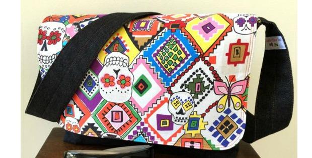 Good to go messenger bag pattern - free - Sew Modern Bags