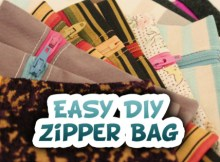 Here's a wonderful FREE video tutorial of how to make a Zipper Bag plus another FREE video tutorial if you want to line the bag.