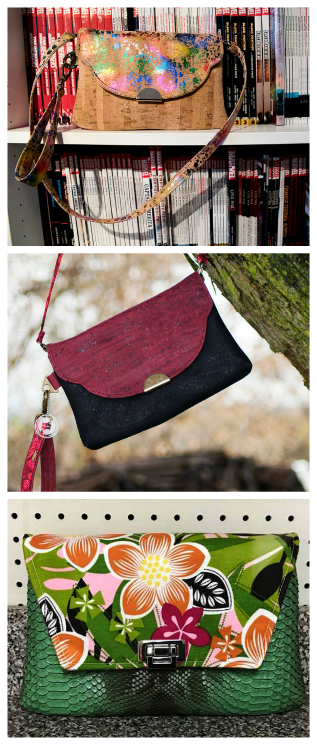 With the Kiley Clutch Bag, you have a lot of flexibility. If you are not sure what you want then Kiley offers it all - she can be a wallet, a clutch, or just a small shoulder bag.