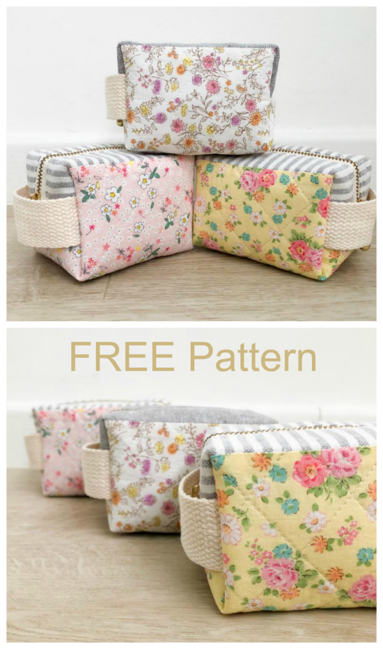 The Little Clover Pouch is perfect for the beginner sewer. It's a simple project that comes with a FREE pattern. This zipper pouch can be made to hold all kinds of things in life, including storing sewing notions and other small accessories.