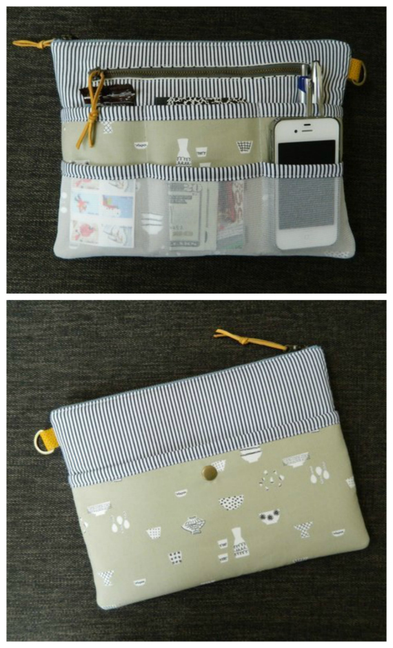 Here's your chanceto create your own one of a kind completely customizable purse organizer (or tablet case) using this awesome pattern.