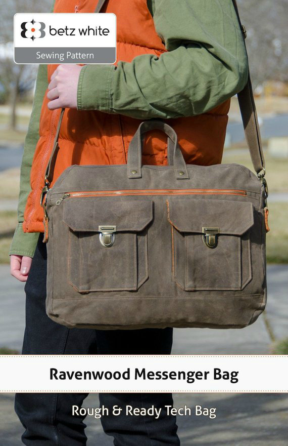 """The Ravenwood Messenger Bag is a rough and ready companion, equipped to carry your tech gear and more. It's utilitarian with multiple pockets inside and out, plus room for your 15"""" laptop and daily necessities. The exterior has a double-zip tech pocket that holds charging cables, cords and earbuds, keeping them organized with elastic straps. There's also a mesh pocket for smaller items."""