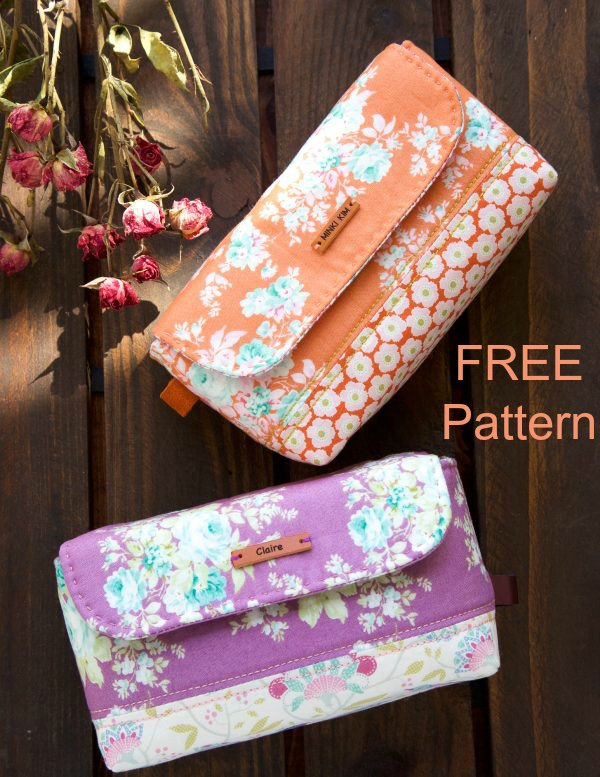 Here's a great quick and easy sewing project from a designer that is being featured for the first time with Sew Modern Bags. With this wonderful FREE pattern, you can make this Back To School StationeryPouch for your daughter, granddaughter, niece or friends. This would be great for a young girl on her first day back to school.