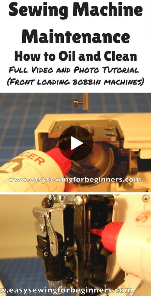 It's always great to learn a new skill and this talented designer is awesome at teaching us all new skills. She has produced a 10-minute video on her YouTube channel showing you how to do some sewing machine maintenance on your front loading bobbin sewing machine. She shows you how to take apart the bobbin area and give your machine a good oil and clean.
