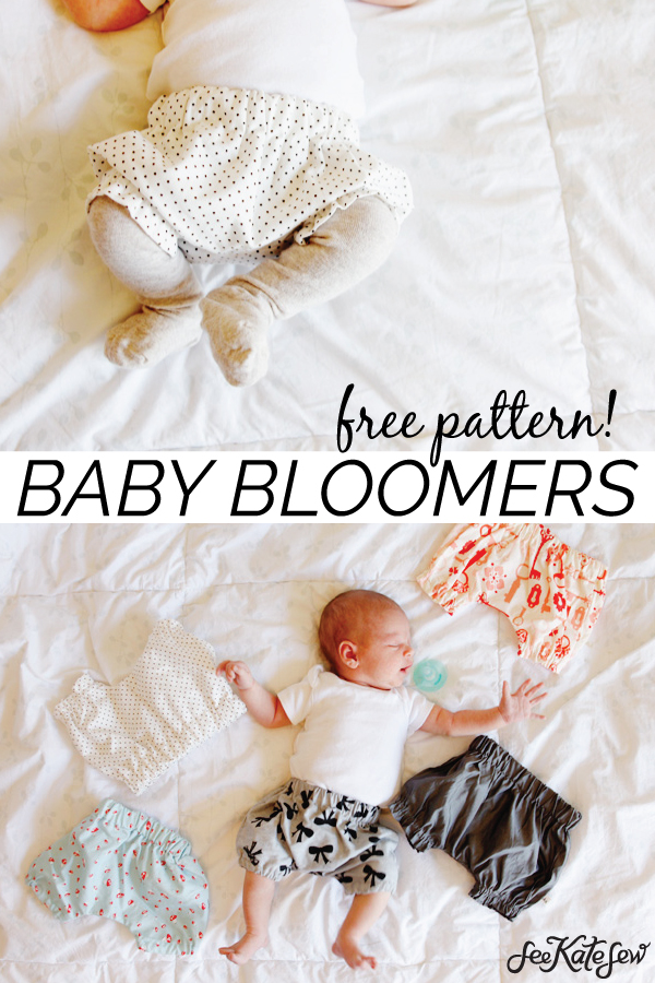 Here are some wonderfully pretty silk bloomers for your baby where the designer has produced a digital sewing pattern that is FREE to download. You can click on the link below. She has actually produced two versions of the silk bloomers. There is the ruched version, which gives a cute little ruffle effect at the leg cuffs and waistband. Or the plain version, which isn't ruffled or ruched.v