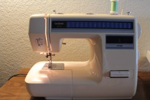 My current sewing machine