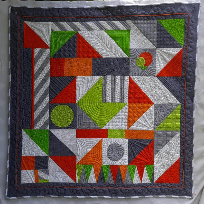 Louise Klare Wild Thing Quilt