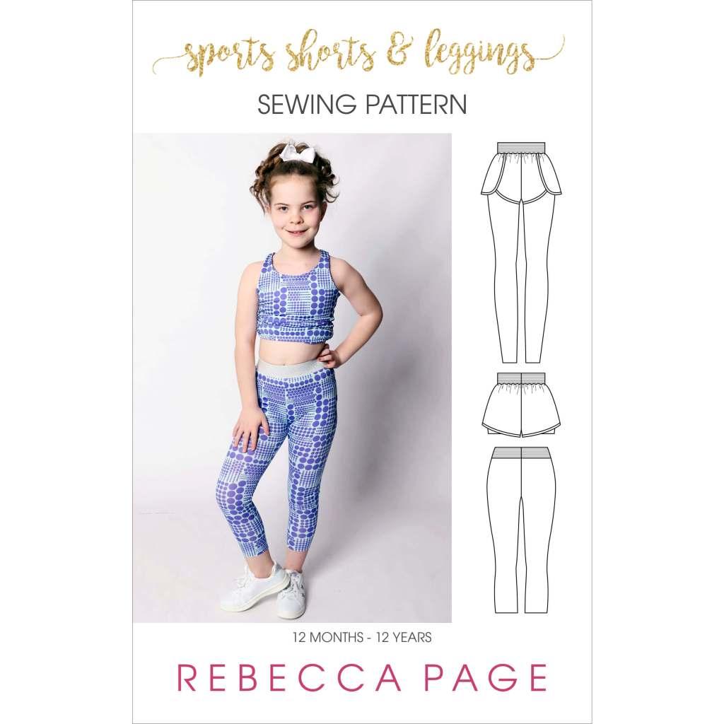 sports-shorts-leggings-PFI-kids pattern cover