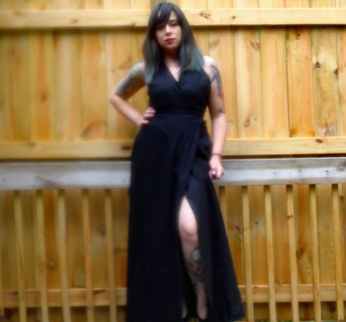 Blurry yet sassy pose. The humidity struggle is real, kids. The foggy lens are a problem.