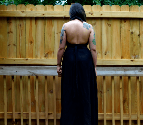 And who doesn't love a backless dress?