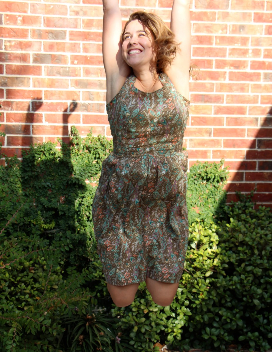 My New Favorite, the Gathered Sundress!
