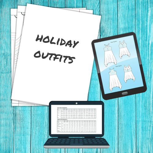 Holiday Outfit Sewing Patterns