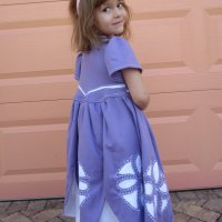 Sofia the First: Reverse Applique Knit Dress