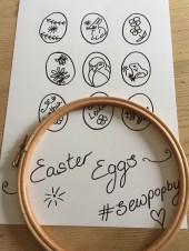Sew Pop By Easter egg pattern