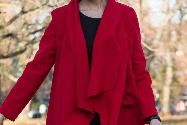 An unstructured wool coat | Butterick B6244