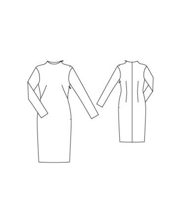 Burda Mag 2015-11-114 Line Drawing