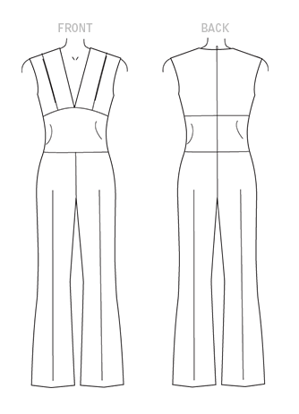 M7444 Line Drawing