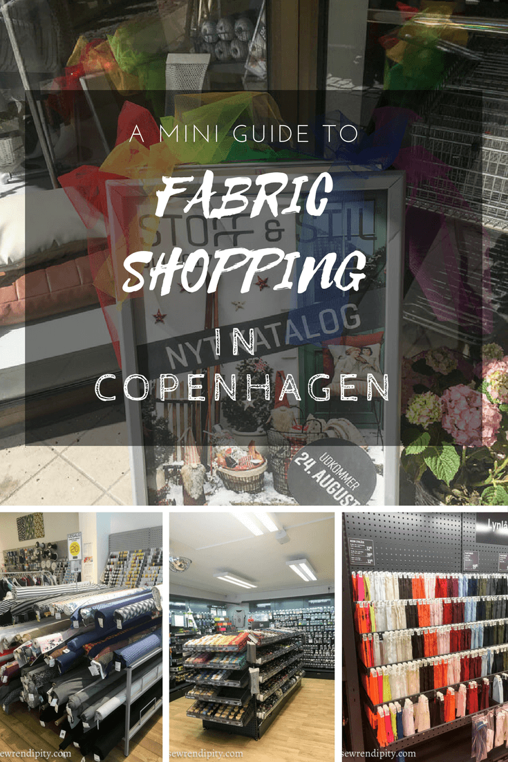 A mini guide to fabric shopping in Copengagen