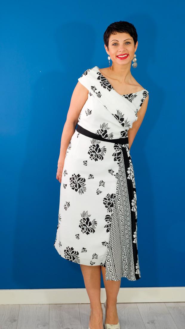 Burda Style Vintage Sophia Dress-11