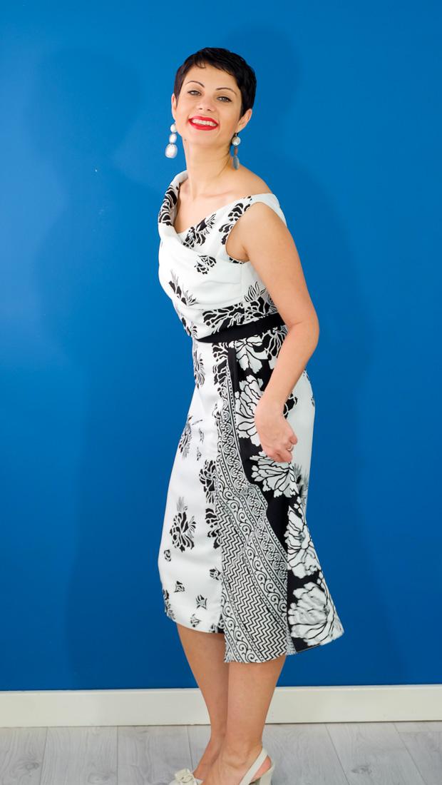 Burda Style Vintage Sophia Dress-14