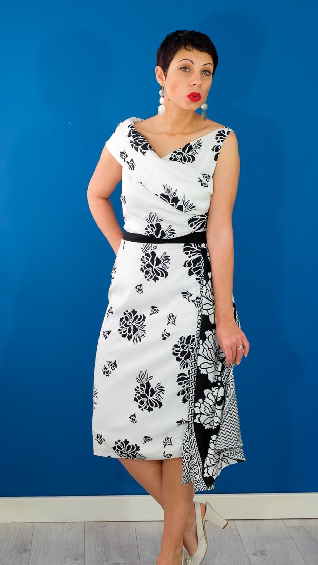 Burda Style Vintage Sophia Dress-18