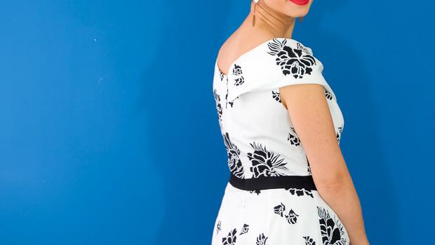 Burda Style Vintage Sophia Dress-3