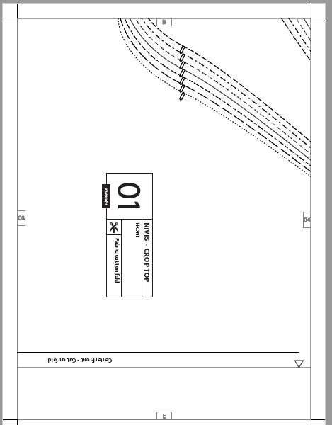 Wearologie Nivis Crop Top - PDF example