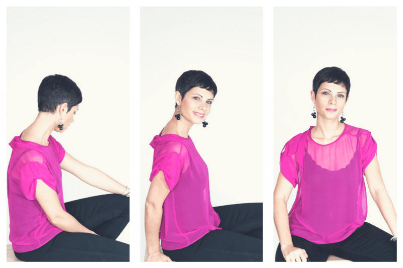 Chiffon tie top |  Pm-Patterns Mademoiselle Gus