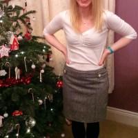 Blogger Network #10 - Winter Wool Skirt