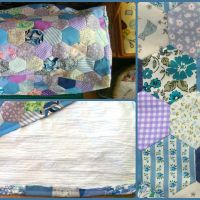 Hexie Sewing Machine Cover!
