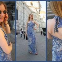 Blogger Network #24 - Italian Holiday Maxi Dress
