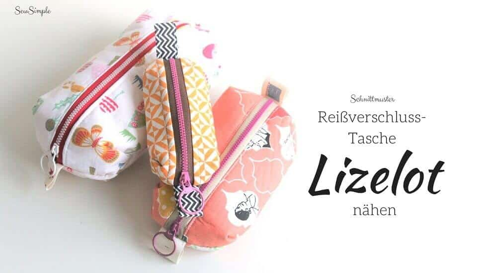 Reißverschluss-Tasche Lizelot nähen
