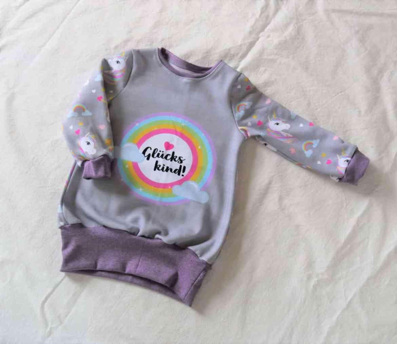 Kindershirt mit Einhorn nähen